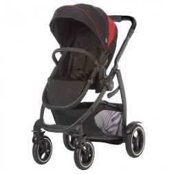 Graco Wózek spacerowy Evo XT Black Red